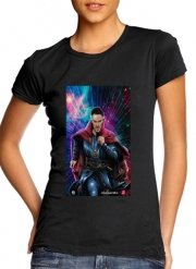 Women T-shirt short sleeve round neck  The doctor of the mystic arts