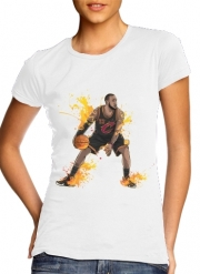 Women T-shirt short sleeve round neck  The King James
