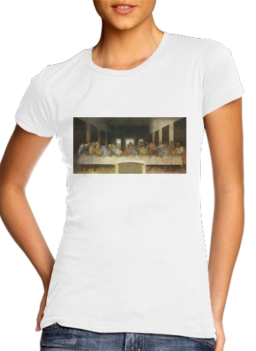 The Last Supper Da Vinci für Damen T-Shirt