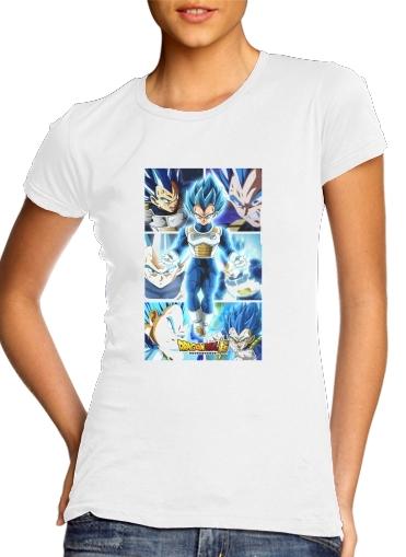 T-Shirts Vegeta SSJ Blue