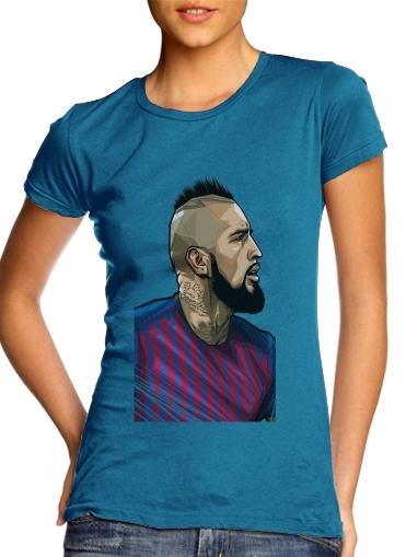 Vidal Chilean Midfielder für Damen T-Shirt