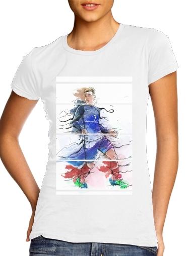 Vive la France, Antoine!  für Damen T-Shirt