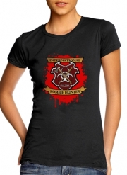 Women T-shirt short sleeve round neck  Zombie Hunter