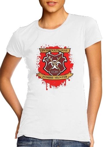 Zombie Hunter für Damen T-Shirt